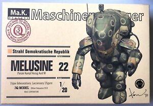 Wave Maschinenkrieger Ma.K. PKA Ausf. M Melusine 1:20 Series 22 Rarität Original