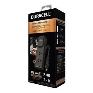 Duracell Power 175W Portable Power Inverter DRINVPS175