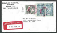 1998 $5.00 #2592 W/Pair #C36 Pays $5.50 Registered Mail Fee #2592 Is XF
