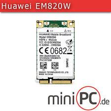 HSPA/UMTS/Edge mini-PCIe Modem + GPS (huawei em820w)