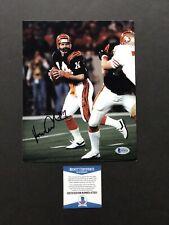 Ken Anderson autographed signed 8x10 photo Beckett BAS COA NFL Cincinnati Bengal
