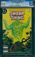 Saga Of The Swamp Thing #37 CGC 9.8 WHITE pgs (1985) 1st John Constantine!
