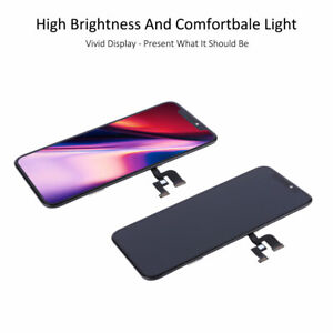 """Soft OLED Display LCD Touch Screen Assembly Replacement for iPhone XS 5.8"""" Black"""