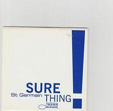 St. Germain-Sure Thing UK promo cd single