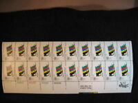 US AIRMAIL  SCOTT#C85, 11C STAMP OLYMPICS GAMES  SHEET OF 20 MNH OG