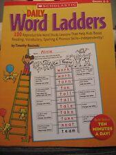 TEACHERS: Daily Word Ladders. (Grades 2-3)