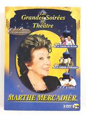 Coffret 3 DVD Marthe Mercadier Theatre / Les Voisins Du Dessus, 13 à Table...