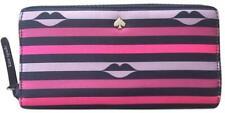 Kate Spade Jae Nylon Lip Print Large CONTINENTAL Wallet WLRU5934