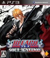 USED PS3 BLEACH Soul Ignition Japan import