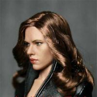 "ZCTOYS 1/6 Scale Scarlett Johansson PVC Head Sculpt Carving Fit 12"" Female Body"