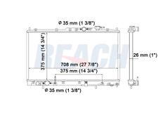 Radiator Reach Cooling 41-2721 fits 2003 Mitsubishi Galant