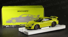 Minichamps Diecast Porsche 911 GT3 2013 Acid Green 1/18 299pcs LIMITED