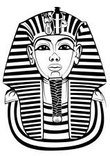 King Tutankhamun ironon Punch Needle Embroidery transfers 3 A4 size by Websters