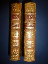 FÉNELON. Les Aventures de Télémaque fils d'Ulysse - Vve Estienne 1740 - carte