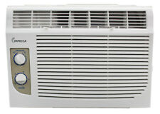 Impecca 5000 BTU Window Air Conditioner, Cools up to 150sqft w/2 Fan Speeds