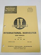 IH International Harvester Shop I&T Manual Series Model 330 340 504 2504 IH-23