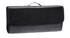 Car Grey Carpet Boot Storage Bag Organiser Tools Breakdown Travel Tidy Large