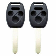 Replace Remote Key Shell fit for 06-2015 HONDA Accord Fit Pilot CRV 4BT 2PCS NEW