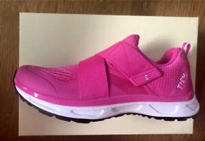 NEW TIEM Cycling Spin Shoes Slipstream Womens SPD Vivid Pink Size 8.5 NIB