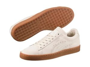 Puma Suede Natural Warmth Birch Sneakers Street Mens US 10.5 BNIB UK 9.5 EUR 44
