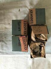 Mazda Ediswan PEN383 x5. NOS vacuum tubes. Original packaging. Vintage.