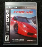 Ferrari Racing Legends Ps3 Playstation 3 Complete Tested Rare Rombax Games
