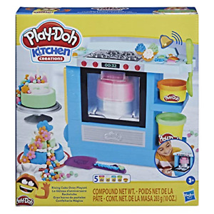 Play-Doh Kitchen Creations Rising Cake Oven Bakery Playset 5 Non-Toxic Compounds