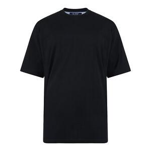 KAM Extra Long T-Shirt Black 2XL,3XL,4XL,5XL,6XL,7XL,8XL