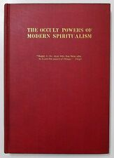 Antique 1925 THE OCCULT POWERS OF MODERN SPIRITUALISM Psychic Spiritism Book