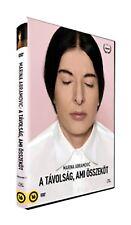 MARINA ABRAMOVIC - A TÁVOLSÁG, AMI ÖSSZEKÖT - BRAZILIAN DVD (2017)
