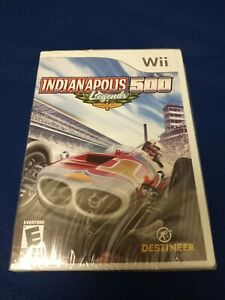 Nintendo Wii Indianapolis 500 Legend Race Car Game New Sealed