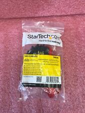 *NEW* StarTech 50cm Serial Attached SCSI Mini SAS Cable - SFF8087 to 4x SFF84