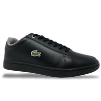 Lacoste Hydez 119 Mens Casual/Lifestyle Leather Shoes Black/Grey (NEW)