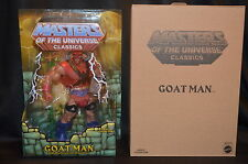 Mattel MOTUC Masters Of The Universe Classics GOAT MAN Collector Figure +Mailer