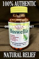 ORIGINAL 60 Capsule Boswellia Serrata 500mg Extract Joint Pain Health Pill Vegan