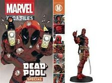 MARVEL FACT FILES SPECIAL FIGURE DEADPOOL in BOX & MAGAZINE 6inch