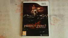Project Zero 2 - jeu Nintendo WII WII U / speel / Spiel / Game