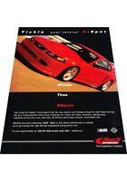 2001 Saleen Mustang Eibach Suspension Vintage Advertisement Car Print Ad J424