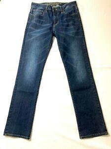 AMERICAN EAGLE AEO Men Slim Boot 100% Cotton Denim Jean - 31x32 Dark Blue