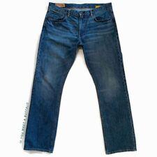 GAP Men's 38x34 Low Rise Straight Fit Jeans Authentic Japanese Denim Distressed