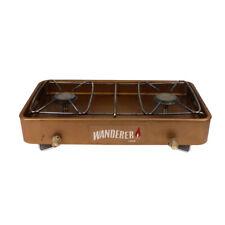 Gas Stove Wanderer 1000 2 Burner Camping Portable Cooker BBQ Vintage