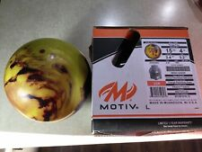RARE NEW IN BOX Motiv Forge Fire 15lb Bowling Ball