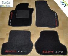 VOLKSWAGEN EOS R32 Teppich-Fußmatten 4 Logos 4 blok