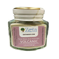 Zeeta Body Volcanic Facial Mask: Acne Prone Skin 3.75 oz.