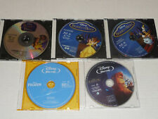 Disney Blu-Ray LOT Beauty And The Beast + Lion King + Frozen