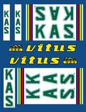 Vintage KAS / Vitus Frame Decals Transfers Autocollants