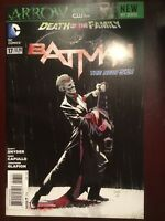 Batman #17-2013  New 52 Death Of The Family, Joker, Snyder, Harley Quinn