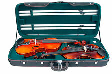 New Edition. Special Enhanced Wooden Case/Fit One Viola And One Violin.