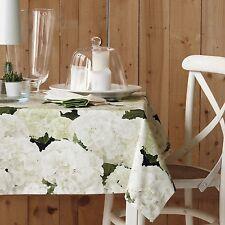 Rechteckige Tischdecken mit Natur- & Blumenmuster aus 100% Baumwolle