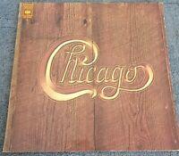 Chicago 12 Inch Vinyl LP CBS Records 1972. Contains The Original Poster
